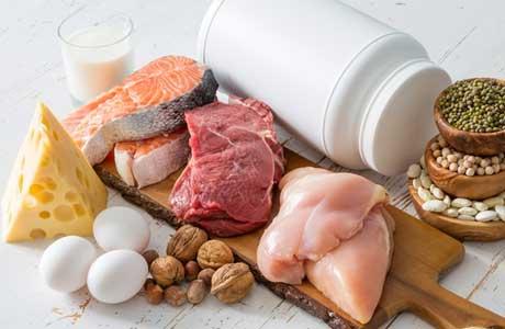 Продукты содержащие белок в большом количестве таблица